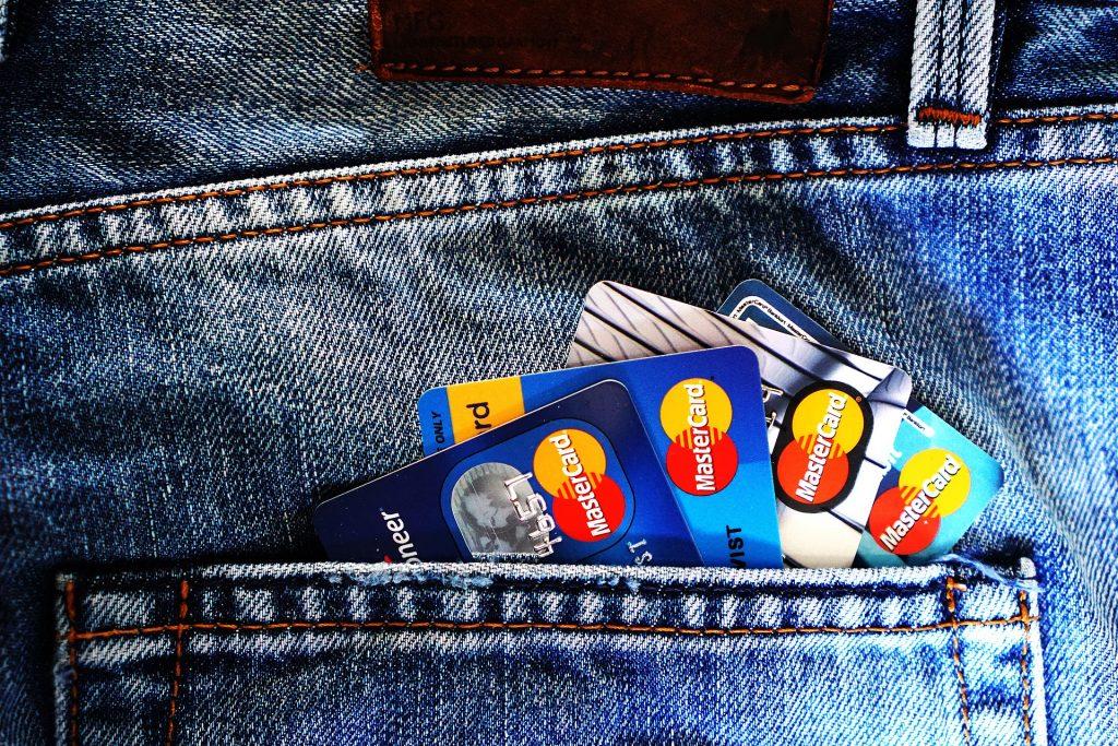 Les cartes de crédit